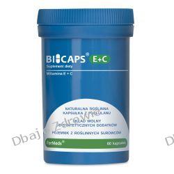 BICAPS E+C, Formeds, Witamina E+C, 60 kapsułek Kremy i maści