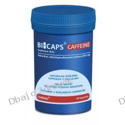BICAPS CAFFEINE Formeds, Kofeina, 60 kapsułek Stawy, kości, mięśnie