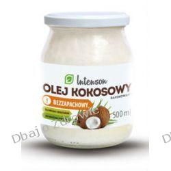 Olej Kokosowy Rafinowany, Bezzapachowy, Intenson, 500g Oliwy i oleje, sosy