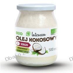 BIO Olej Kokosowy Virgin, Intenson, 500ml