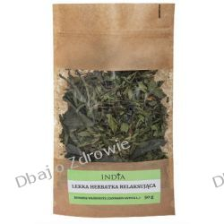 Lekka Ziołowa Herbata Relaksująca, India, 50g Herbaty