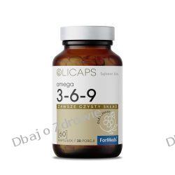 OLICAPS OMEGA 3-6-9 Kwasy ALA, LA i Oleinowy, ForMeds Zdrowie i Uroda