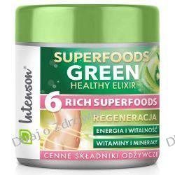 Green Superfood Elixir, Intenson, 150g Zdrowie i Uroda
