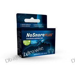 NoSnore Plus Wkładka do Nosa przeciw Chrapaniu rozm M 3 Urządzenia