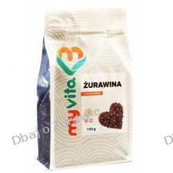 Żurawina Naturalna Suszona, Myvita, 150g Zdrowa żywność
