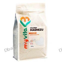 Chlorek Magnezu Sześciowodny Płatki, MyVita, 1000g Oleje