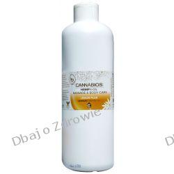 Olejek Konopny do Masażu X-OIL Lemon Cannabios, 500ml Kremy i maści
