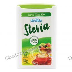 Stevia, 60 mg, Steviola, 300 tabletek Zdrowa żywność