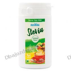 Stevia, 60 mg, Steviola, 1000 tabletek Delikatesy