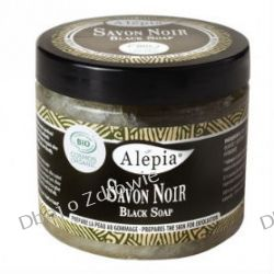 Czarne Mydło Savon Noir BIO, Alepia, 200g Preparaty witaminowo-mineralne