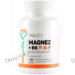 Magnez + Witamina B6 P-5-P, MyVita, 100 tabletek Kremy pod oczy