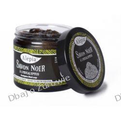 Czarne Mydło Peelingujące Savon Noir Eukaliptus, Alepia, 200g Mydła
