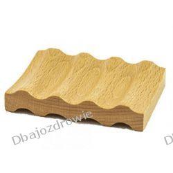 Mydelniczka na Mydło Alep z Drewna Bukowego Ziołowe