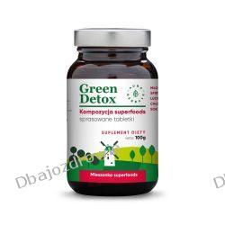 Green Detox Kompozycja Superfoods, Tabletki, Aura Herbals, 100g Zdrowie, medycyna