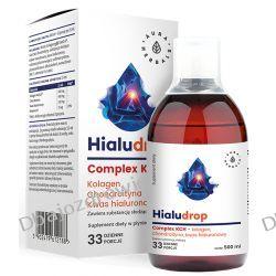 Hialudrop Complex KCH Kolagen, Chondroityna, Kwas Hialuronowy, Aura Herbals, 500ml Zdrowie i Uroda
