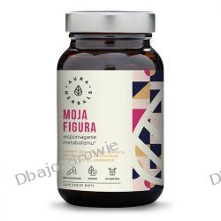 Moja Figura Wspomaganie Metabolizmu, Aura Herbals, 60 kapsułek wegańskich Zdrowie i Uroda