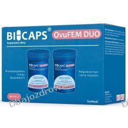 BICAPS OvuFEM DUO, N-acetylocysteina + Folian Quatrefolic, Formeds Zdrowie i Uroda