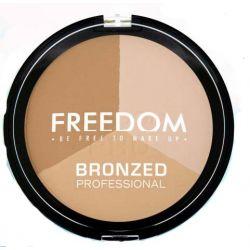 FREEDOM Bronzer Puder Pro Warm Lights Shimmer