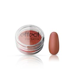 Pyłek Satine Red Powder Silcare efekt satyny
