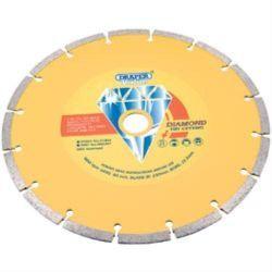 Tarcza do cięcia diamentowa 230mm DRAPER 41856 Płaskie, oczkowe, płasko-oczkowe