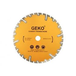 Tarcza diamentowa 230mm głębokie cięcie GEKO, G00226