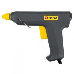 Pistolet klejowy 11 mm, 78W 42E501 Topex Płaskie, oczkowe, płasko-oczkowe