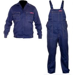 Ubranie robocze, bluza i ogrodniczki H:170, C:92-96, W:82-86, Quest M, LahtiPro LPQK70M