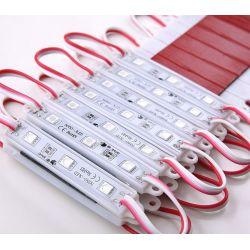 Moduł LED 3x5050 SMD reklama do kasetonu czerwony