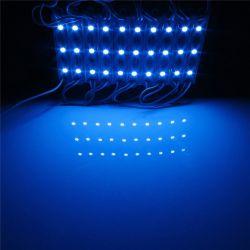 Moduł LED 3x5050 SMD reklama do kasetonu niebieski
