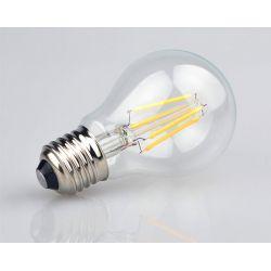 Żarówka E27 LED FILAMENT 4W EDISON 500lm A60 ciepł Woreczki i torby foliowe
