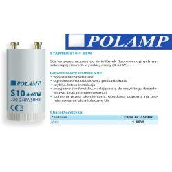 Zapłonnik świetlówki Starter PC480 4-65W S10 36