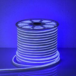TAŚMA LED NEON FLEX  ŚWIETLNY LEDOWY niebieski 1mb