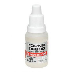 TOPNIK RF800 FLUX do lutowania SMD 15ml AG