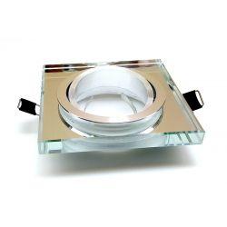 Oprawka HALOGENOWA SZKLANA ruchoma GU10 LED szkło