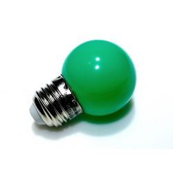 Żarówka E27 LED 5 SMD 5050 230V 1W Zielona