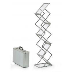 STOJAK sp STANDARD NA ULOTKI A4 składany + walizka Biuro i Reklama