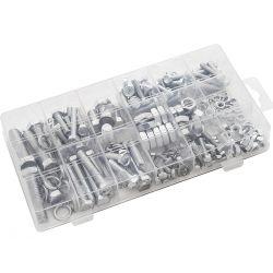 Zestaw śruby i nakrętki M4-M10 240szt  9802 Narzędzia i sprzęt warsztatowy