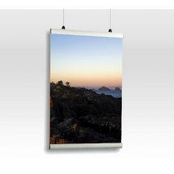 Aluminiowa Listwa Plakatowa 30mm  100cm OWZ anoda Biuro i Reklama