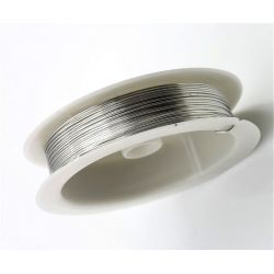 Srebrzanka drut miedziany srebrzony 0,6mm/ 6mb