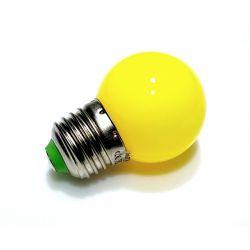 Żarówka E27 LED 5 SMD 5050 230V 1W Żółta POLAMP