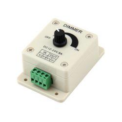 Ściemniacz manualny LED DIMMER 12DC 8A 96W 2066