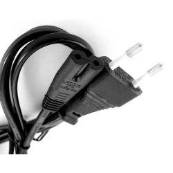 Kabel zasilający LCD  'ósemka'  2,5m czarny 4410 Pozostałe