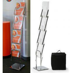 STOJAK fold EXCLUSIV NA ULOTKI A4 składany z torbą Reklama