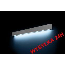 Kinkiet 120cm METAL STRAIGHT WALL SILVER 6357 24H