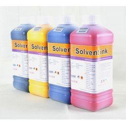 Tusz Eco Solvent (1 Litr) - Czerwony (Magenta) Woreczki i torby foliowe