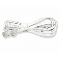Przewód telefoniczny kabel prosty RJ11 10m  9113B Komunikacja i łączność
