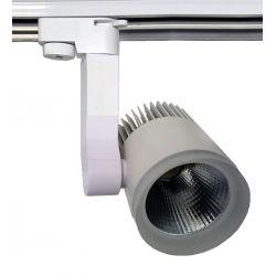 Lampa szynowa LED 20W BIAŁA 1-fazowa zimna gd214