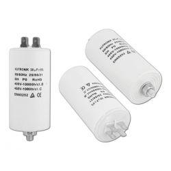 Kondensator rozruchowy silnikowy 30uF/450VAC konek
