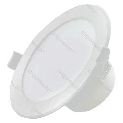 Panel LED okrągły podtynkowy 25W Plafon IP44 zimna
