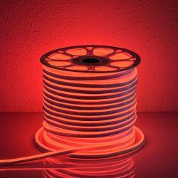 TAŚMA LED NEON FLEX  ŚWIETLNY LEDOWY czerwony 1mb